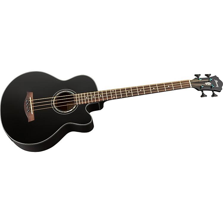 IbanezAEB10BBE Acoustic-Electric BassBlack