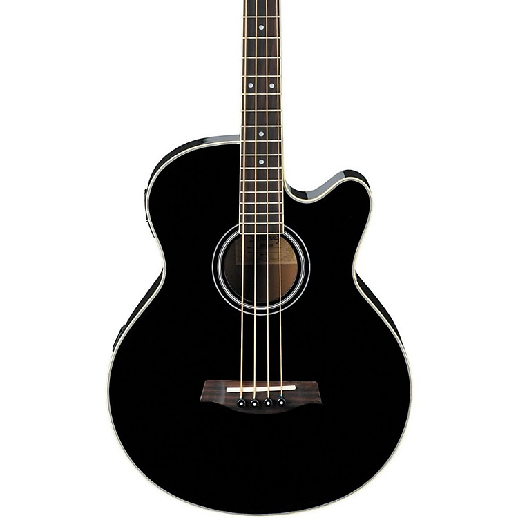 Ibanez AEB5E Acoustic-Electric Bass Black