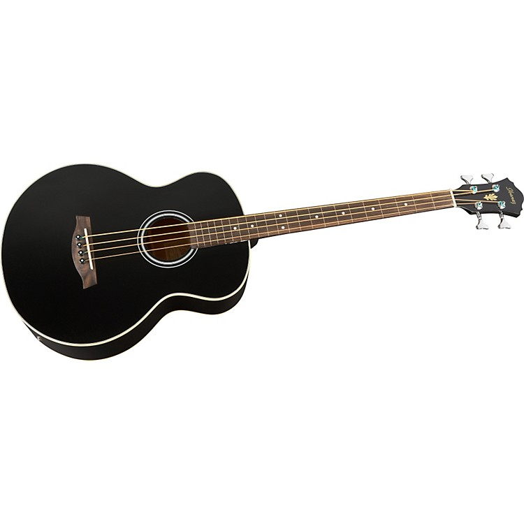 Ibanez AEB5FE Fretless-Acoustic Electric Bass Black Night