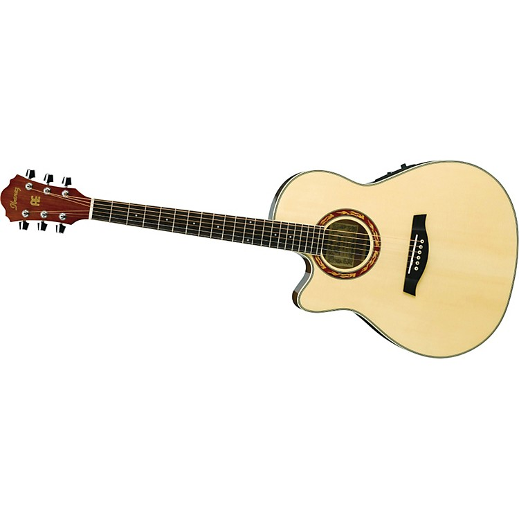 Ibanez AEF18LE Left-Handed Acoustic-Electric Guitar NATURAL
