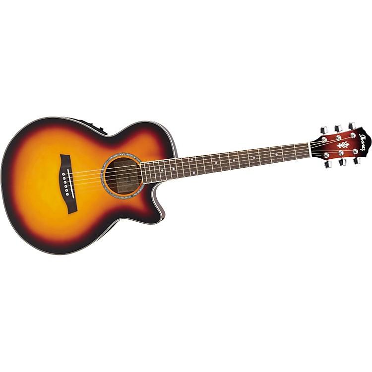 IbanezAEG10E Cutaway Acoustic-Electric GuitarVintage Sunburst