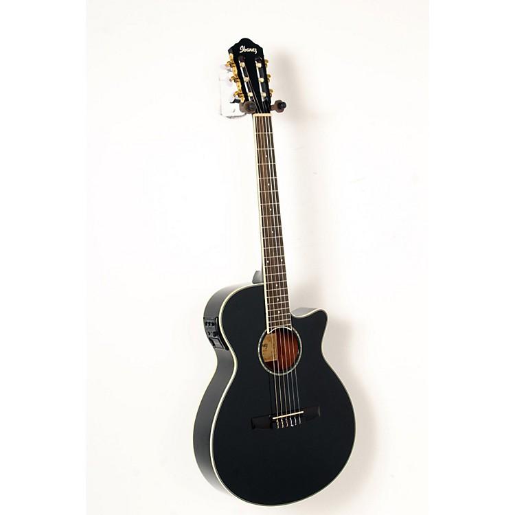IbanezAEG10NII Nylon String Cutaway Acoustic-Electric GuitarBlack888365842899