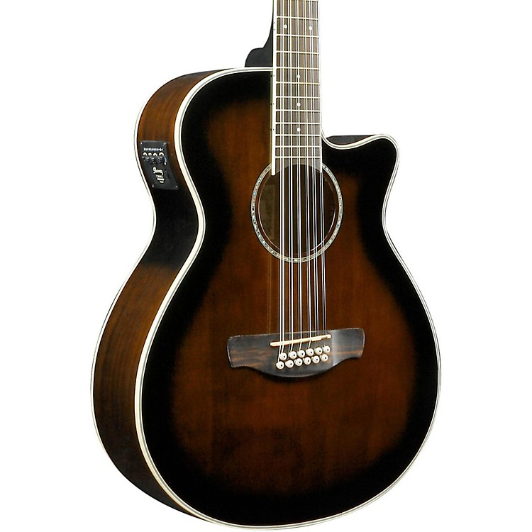 IbanezAEG1812II AEG 12-String Acoustic-Electric GuitarDark Violin Sunburst