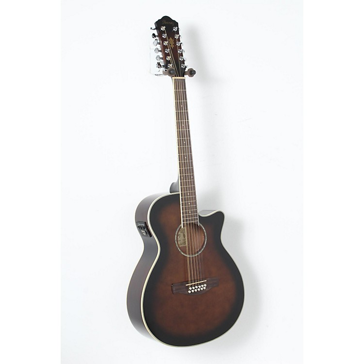 Ibanez AEG1812II AEG 12-String Acoustic-Electric Guitar Dark Violin Sunburst 888365894614