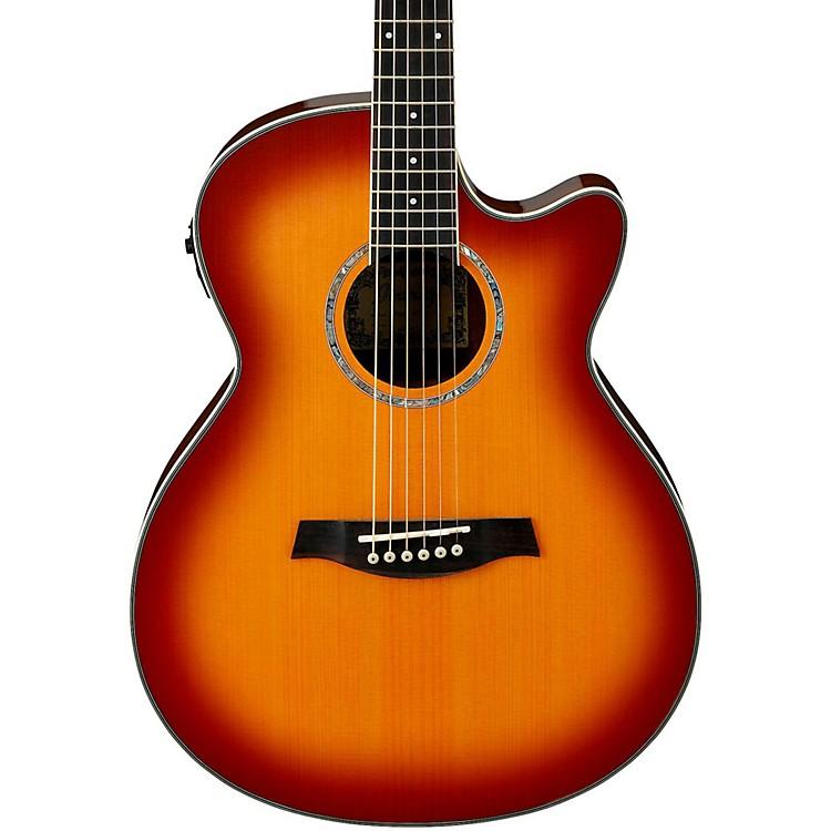 IbanezAEG18II Cutaway Acoustic Electric GuitarAntique Violin Sunburst