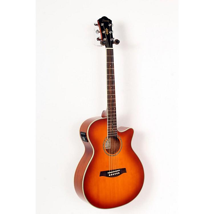 IbanezAEG18II Cutaway Acoustic Electric GuitarAntique Violin Sunburst888365700076