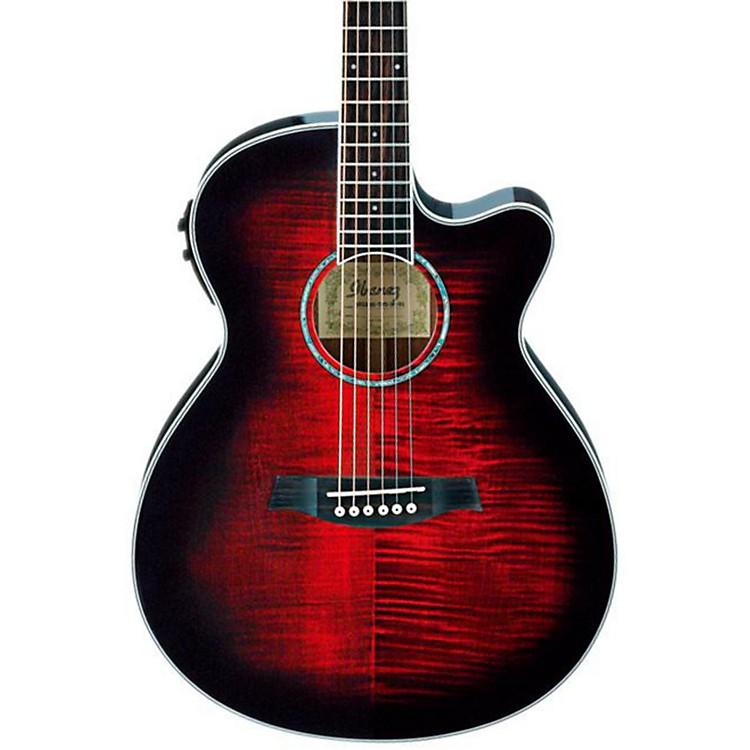 IbanezAEG20II Flamed Sycamore Top Cutaway Acoustic-Electric Guitar