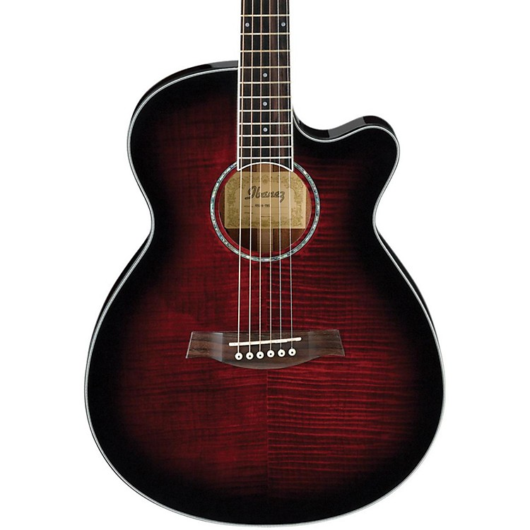 IbanezAEG240 Thinline Recording Acoustic-Electric Guitar