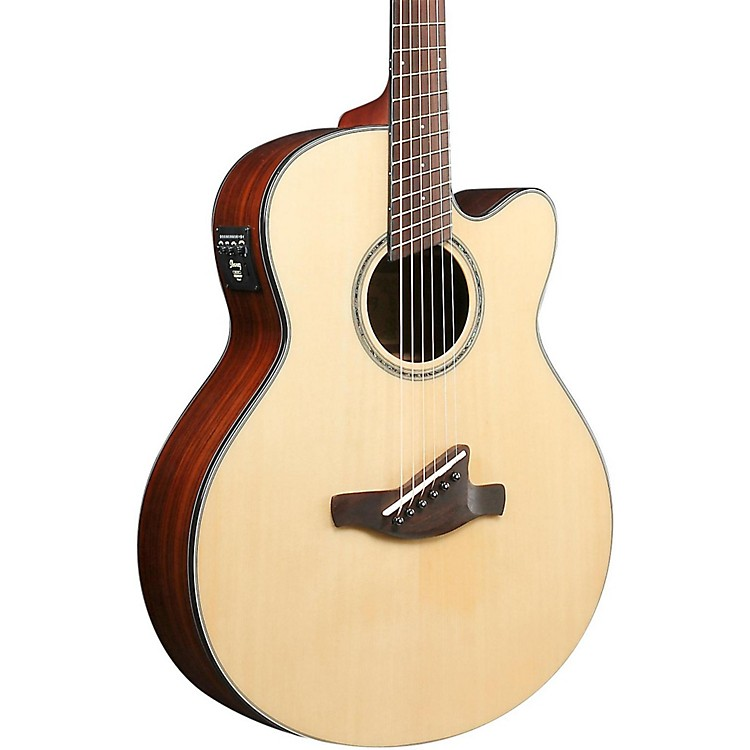 IbanezAELFF10 AEL Fanned-Fret Acoustic-ElectricNatural