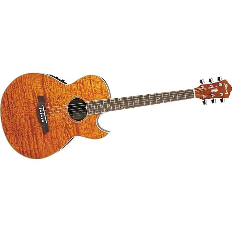 ibanez aes10e mini jumbo acoustic electric guitar music123. Black Bedroom Furniture Sets. Home Design Ideas