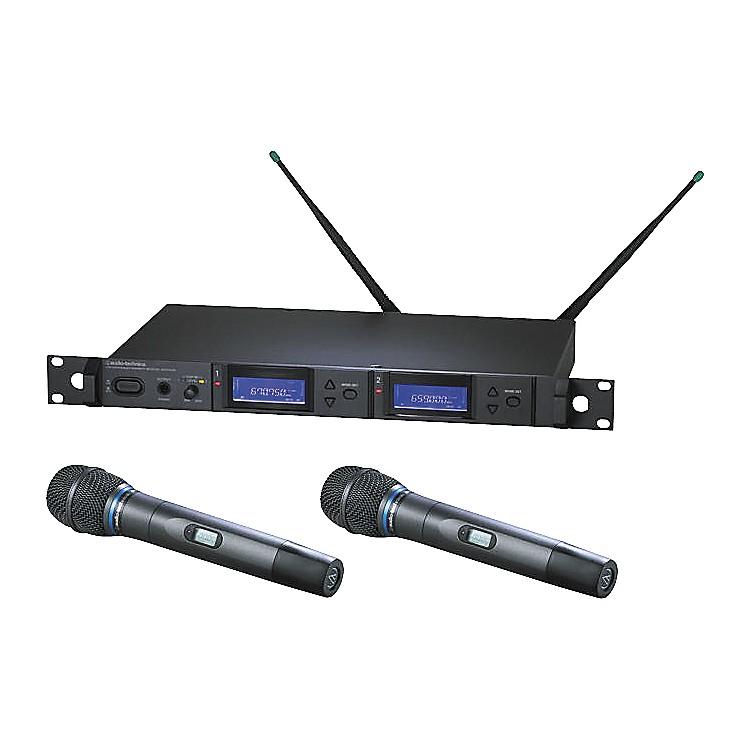 Audio-TechnicaAEW-5255 Artist Elite Dual Receiver Cardioid Condenser Mic SystemBand C