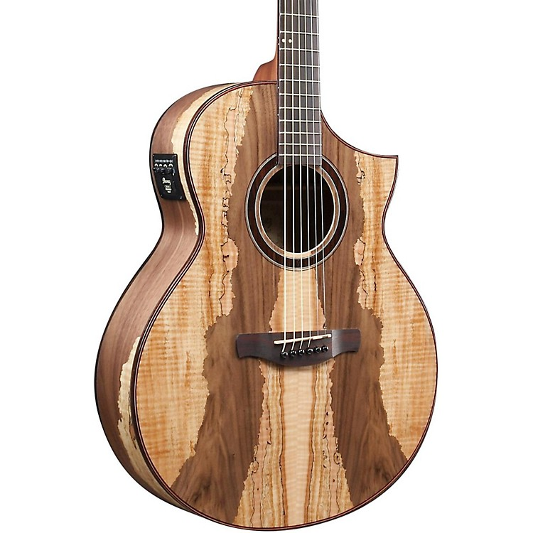IbanezAEW16LTD Limited Edition Exotic Wood Acoustic-Electric GuitarNatural