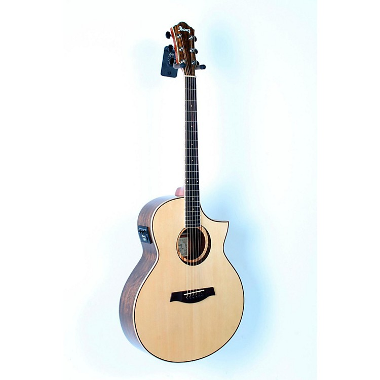 IbanezAEW21VKNT Ovangkol Exotic Wood Acoustic-Electric GuitarGloss Natural888365714899