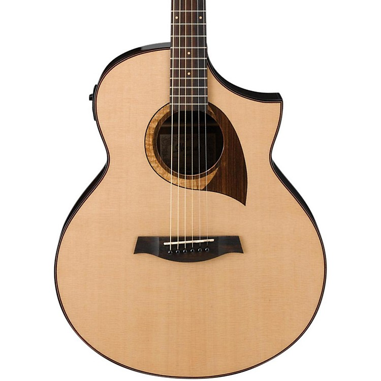 Ibanez AEW22CDNT Cordia Exotic Wood Acoustic-Electric Guitar Natural Gloss