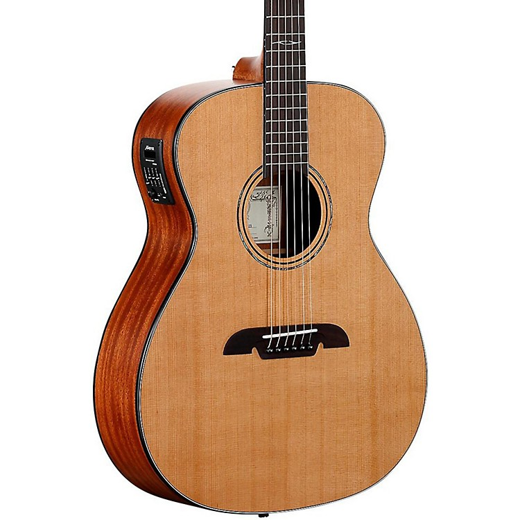 Alvarez AF615E Folk Acoustic-Electric Guitar Natural