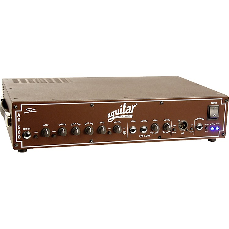 Aguilar AG 500SC Single Channel Bass Head Boss Brown 4 Ohm