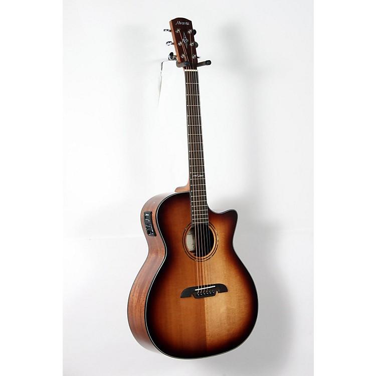 AlvarezAG610CESHB Grand Auditorium Acoustic-Electric GuitarShadow Burst888365917351