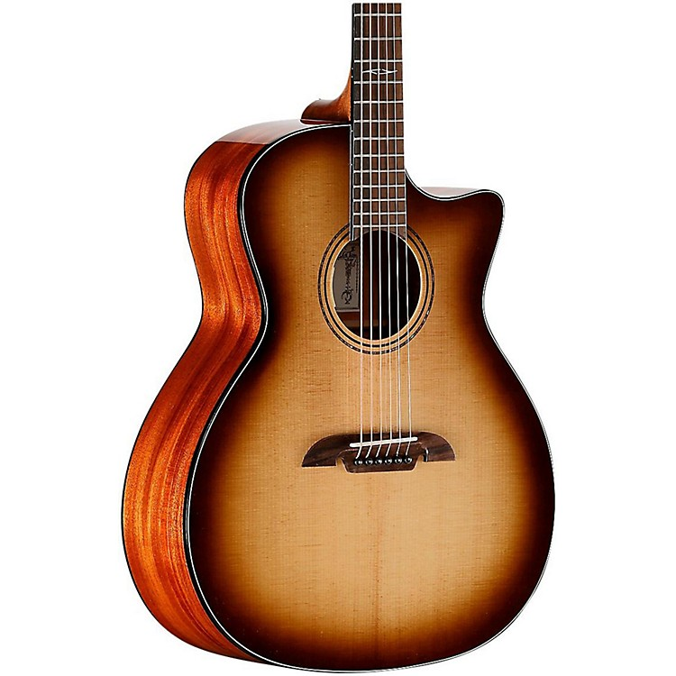 Alvarez AG610CESHB Grand Auditorium Acoustic-Electric Guitar Shadow Burst