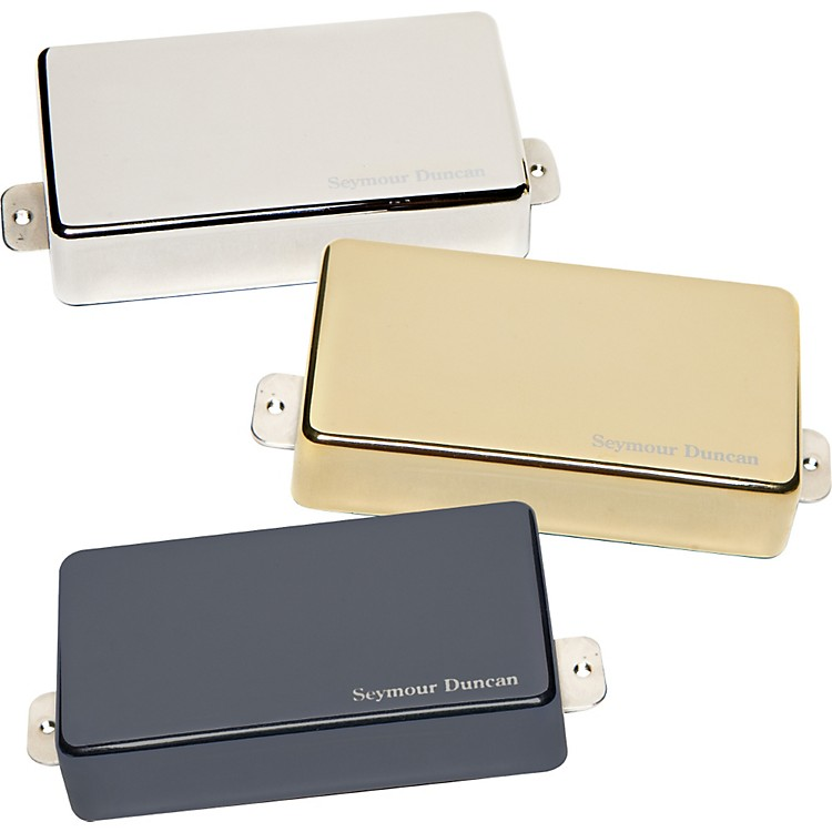 Seymour Duncan AHB-1 Blackouts Humbucker Set with Metal Covers Nickel