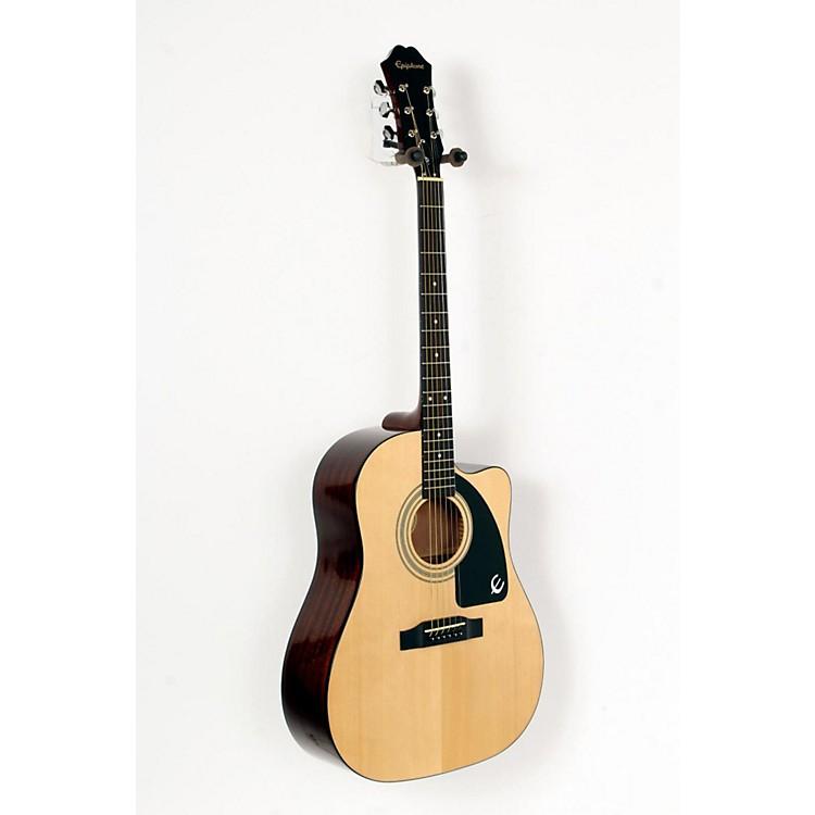 EpiphoneAJ-100CE Acoustic-Electric GuitarNatural, Chrome Hardware888365739212