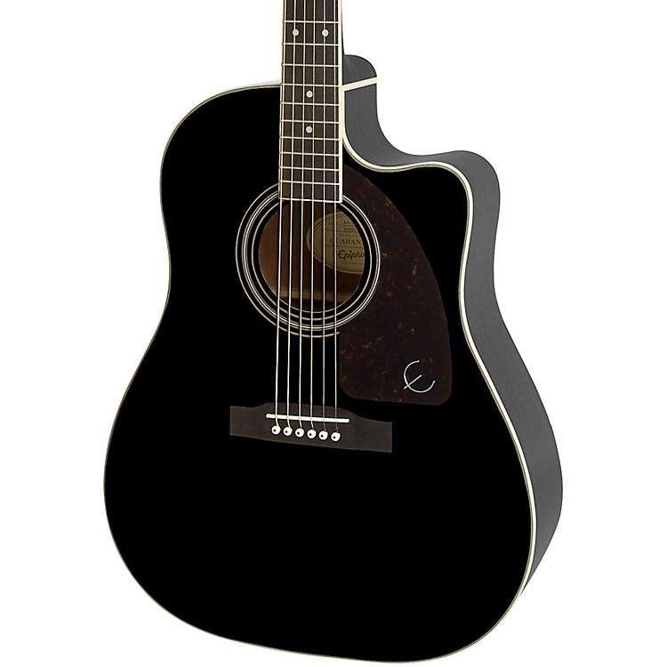 Epiphone AJ-220SCE Acoustic-Electric Guitar Ebony