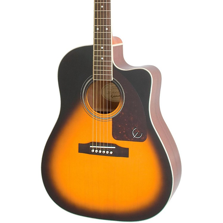 Epiphone AJ-220SCE Acoustic-Electric Guitar Vintage Sunburst