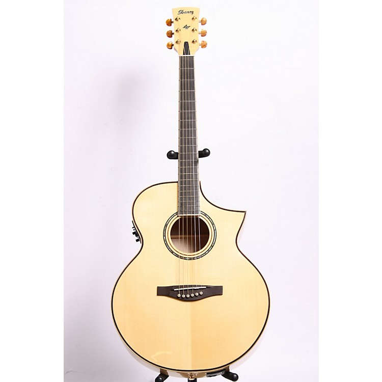 Ibanez AJS1180ECENT Artwood Series Jumbo Cutaway Acoustic–Electric Guitar Natural 889406880979