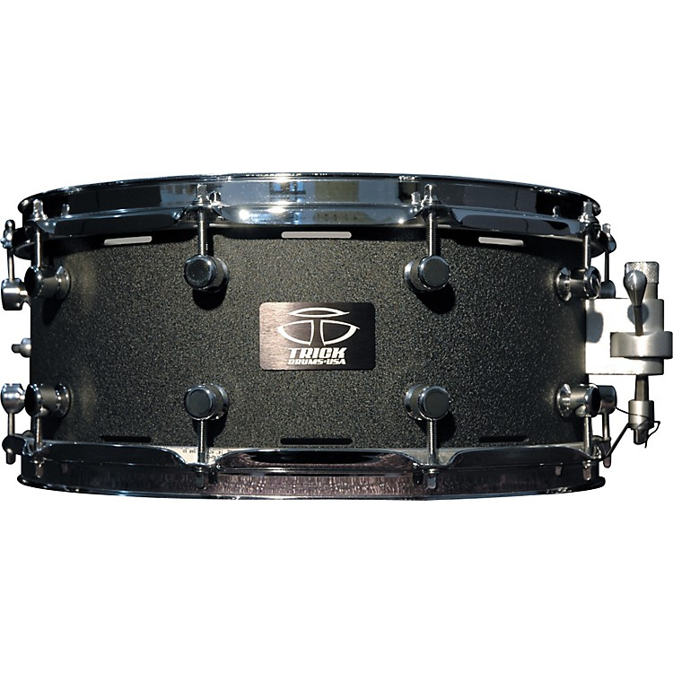 Trick Drums AL13 Snare Drum 14 x 6 in. Black Cast