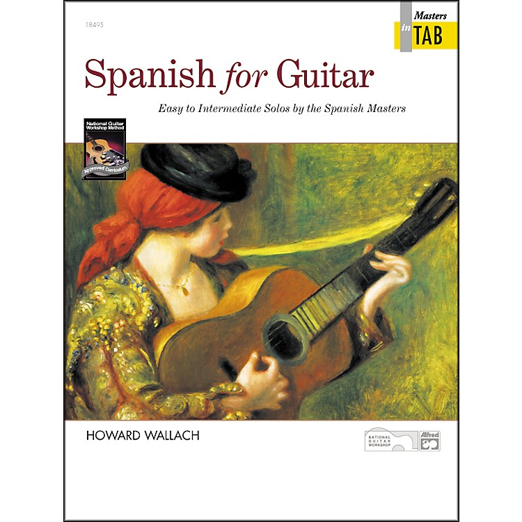 Alfred ALFRED 00 18495 SPANISH FOR GUITAR MASTERS IN TAB