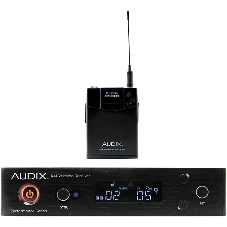 Audix AP41 BP Bodypack Wireless System 518-554 MHz