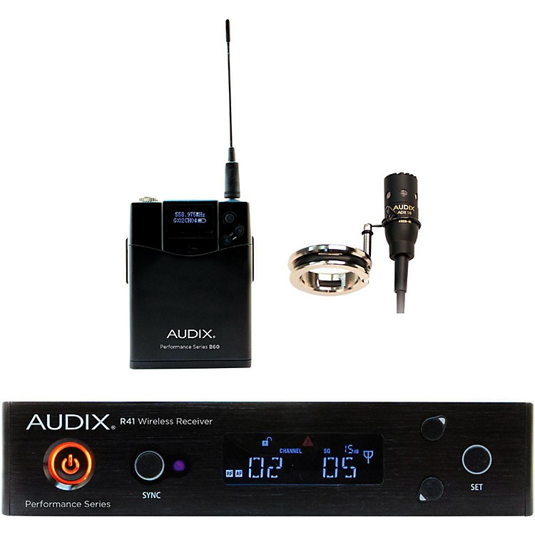 AudixAP41 FLUTE Lavalier Wireless System518-554 MHz