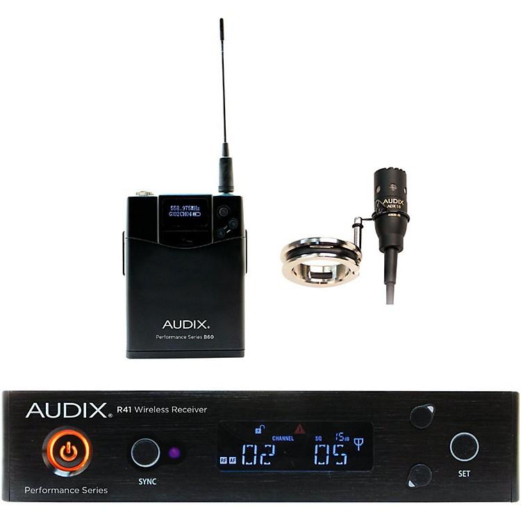 AudixAP41 FLUTE Lavalier Wireless System554-586 MHz