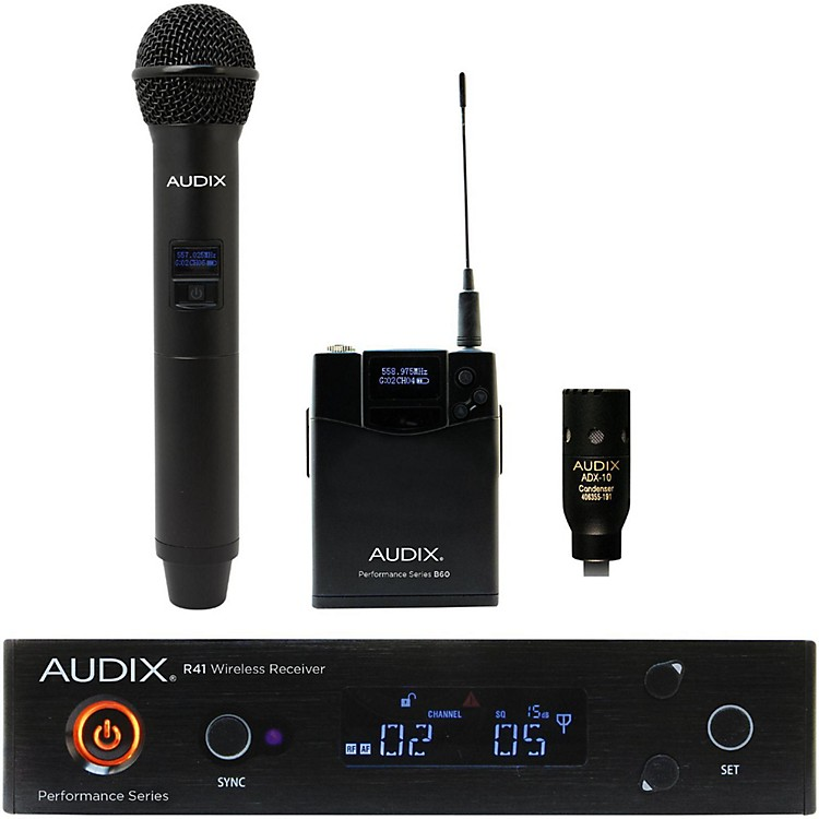 Audix AP41 OM2 L10 Lavalier Wireless System 554-586 MHz
