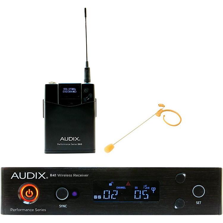 AudixAP41HT7BG Headset Wireless system w/ HT7 Omni Condenser mic - Beige518-554 MHz