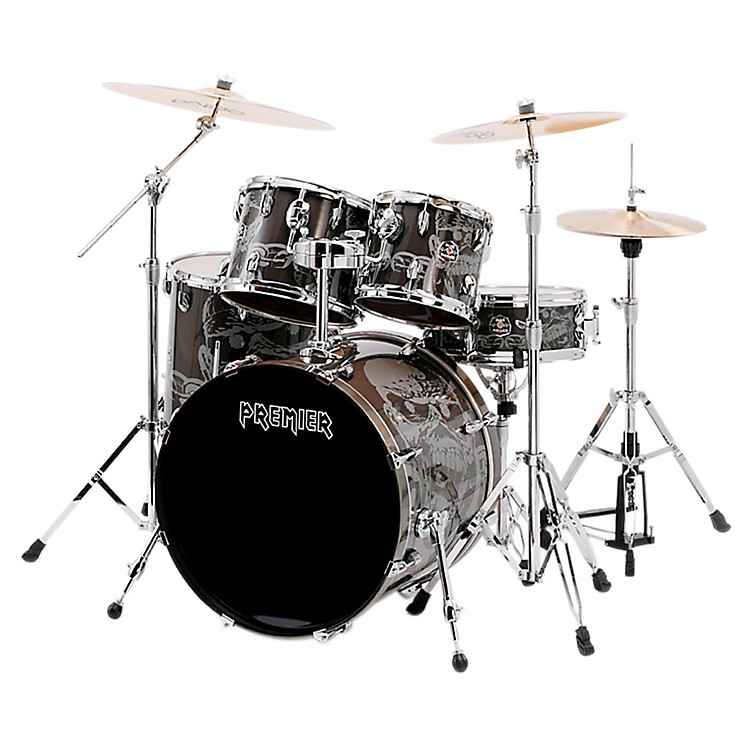 Premier APK Spirit of Maiden 5-Piece Shell Pack Eddie metallic covering