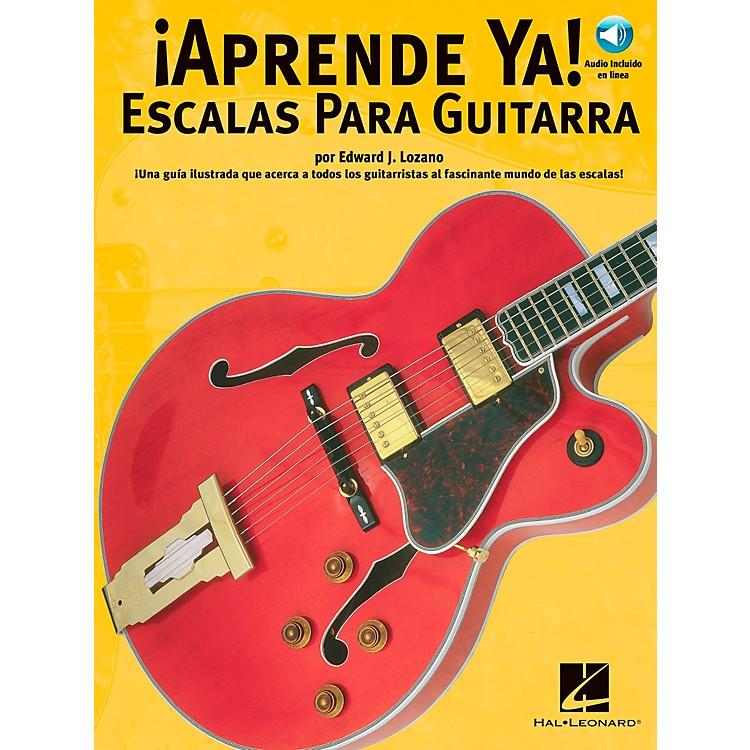 Music SalesAPRENDE YA! - A TOCAR ESCALAS PARA GUITARRA BOOK/CD