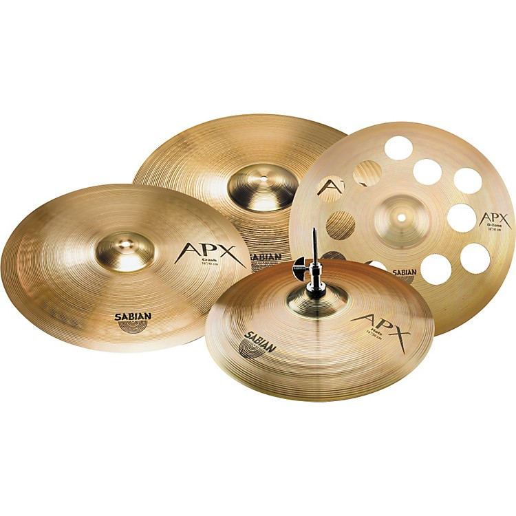 sabian apx performance cymbal set with free 16 ozone crash music123. Black Bedroom Furniture Sets. Home Design Ideas