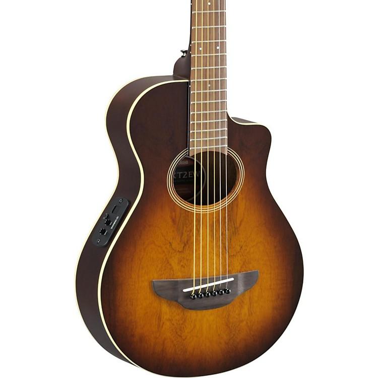 YamahaAPX Thinline 3/4 size Acoustic-Electic GuitarTobacco Sunburst