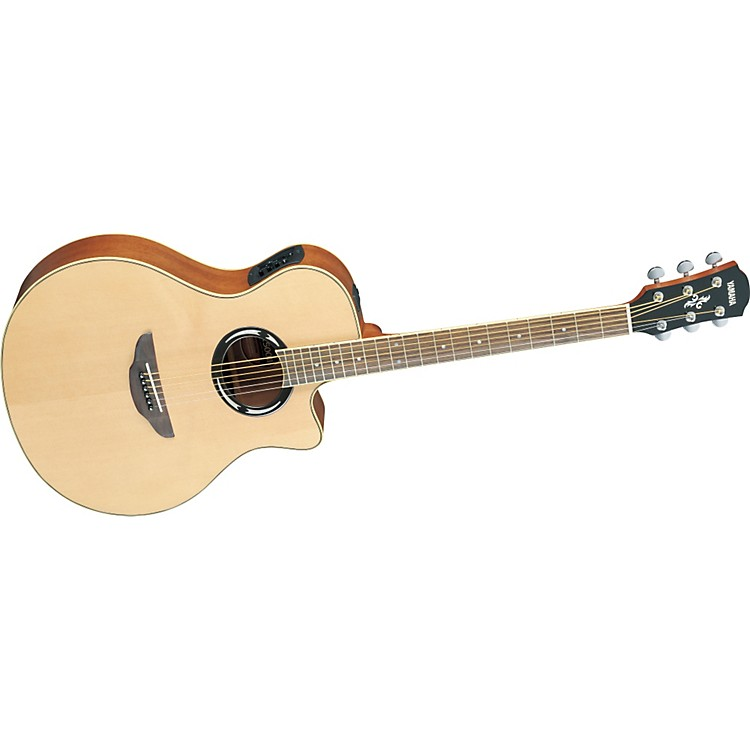 Yamaha APX500II Thinline Cutaway Acoustic-Electric Guitar Natural