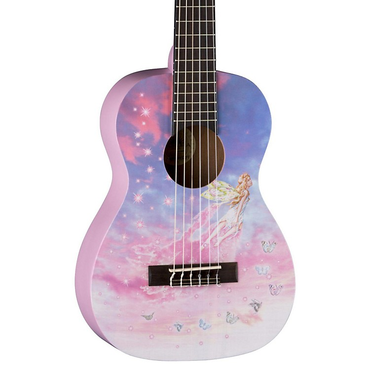 Luna GuitarsAR2 NYL Auroura Dragon GuitarFaerie Graphic