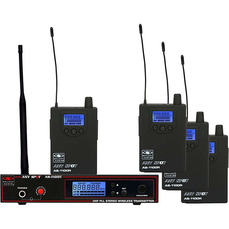 Galaxy Audio AS-1100 Series Band pack Band D (584-607 MHz)