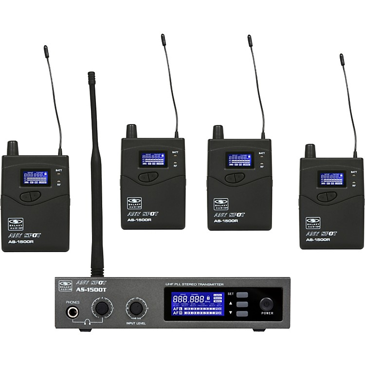 Galaxy AudioAS-1500-4 Band Pack Wireless System