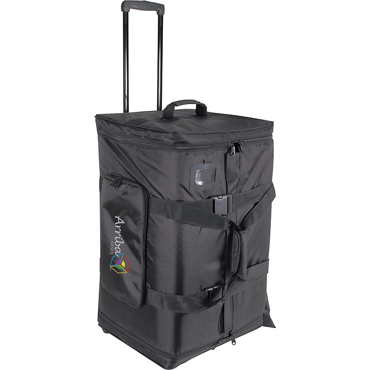 Arriba CasesAS-175 Speaker and Stand Combo Bag with Wheels
