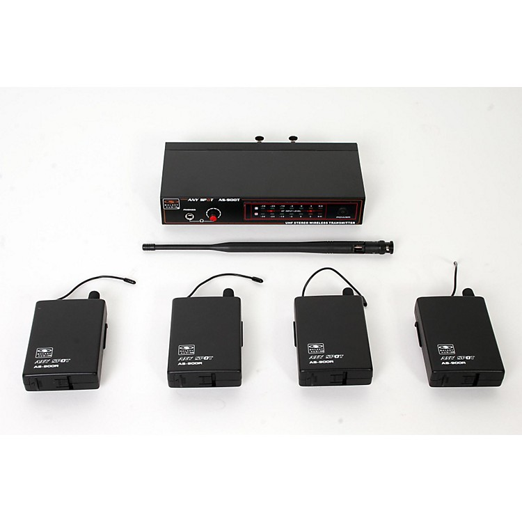 Galaxy Audio AS-900-4 Band Pack Wireless System K2 888365856544