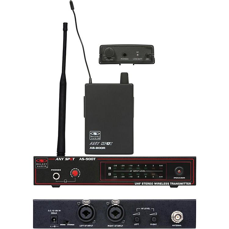 Galaxy AudioAS-900 Wireless Personal SystemK1/630.2 MHz