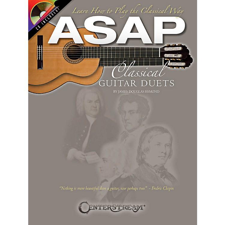 Hal LeonardASAP Classical Guitar Duets Book/CD