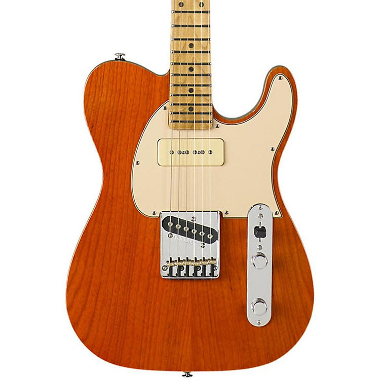 G&LASAT Classic Bluesboy 90 Electric GuitarClear Orange