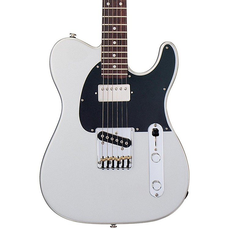 G&L ASAT Classic Bluesboy Electric Guitar Silver Metallic