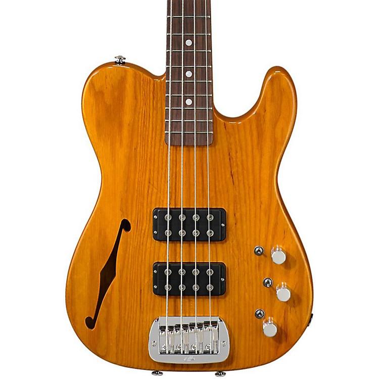 G&LASAT Semi-Hollow Electric Bass GuitarHoney Burst