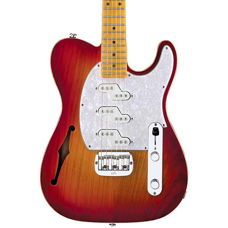 G&LASAT Z-3 Semi-Hollow Electric Guitar